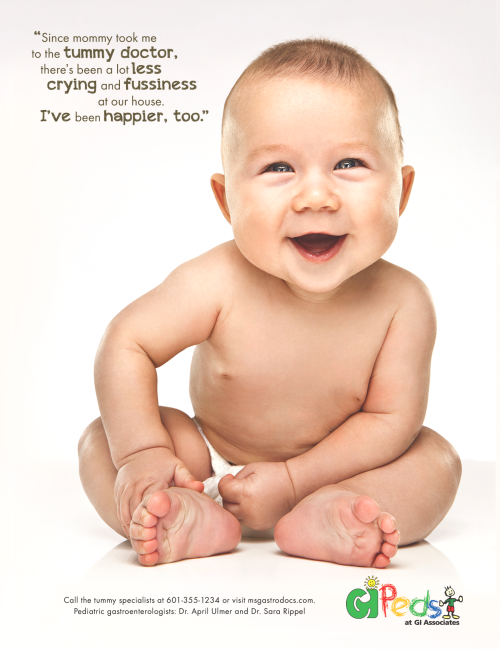 GI Associates Happy Baby Ad