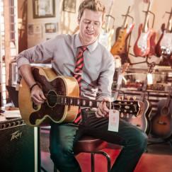 Patrick Harkins of Fondren guitars