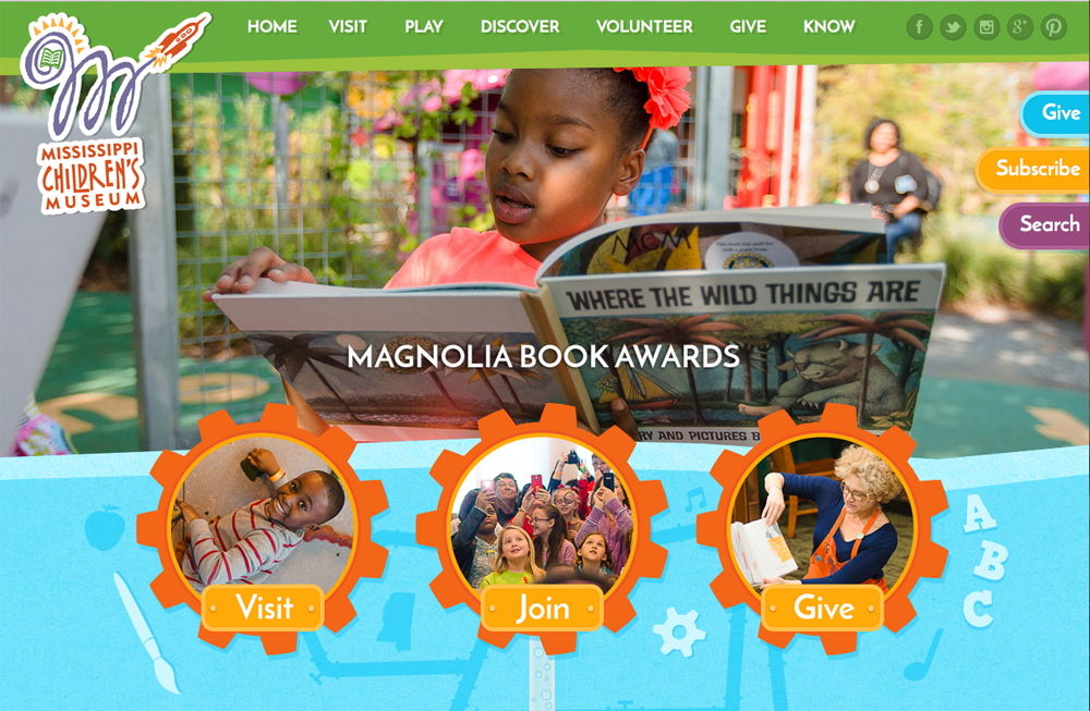 Mississippi Children's Museum website