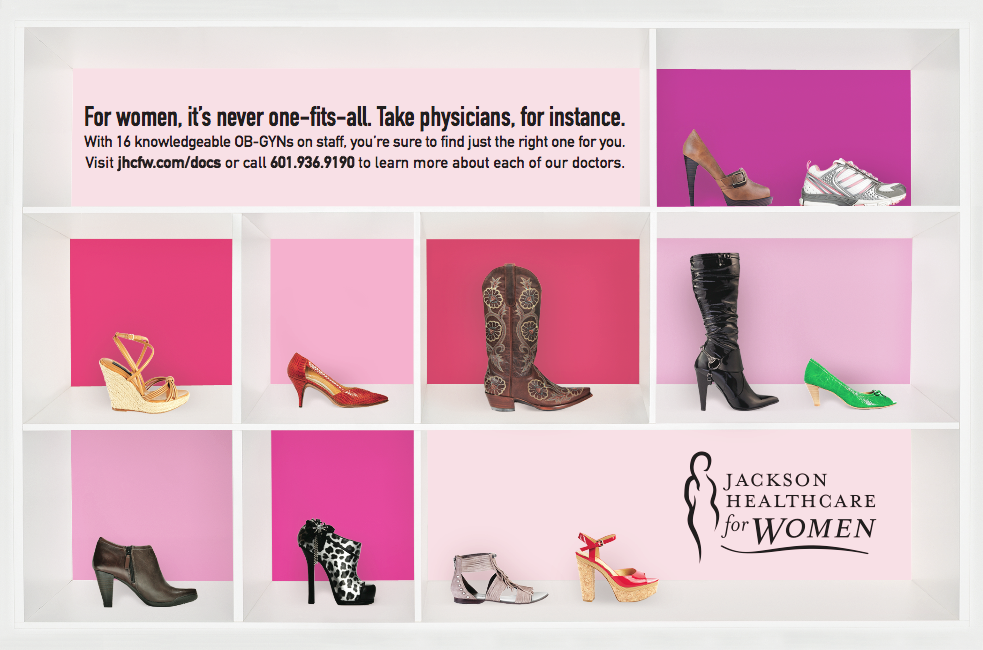 "Jackson Healthcare for Women - ""Shoe Ad"""