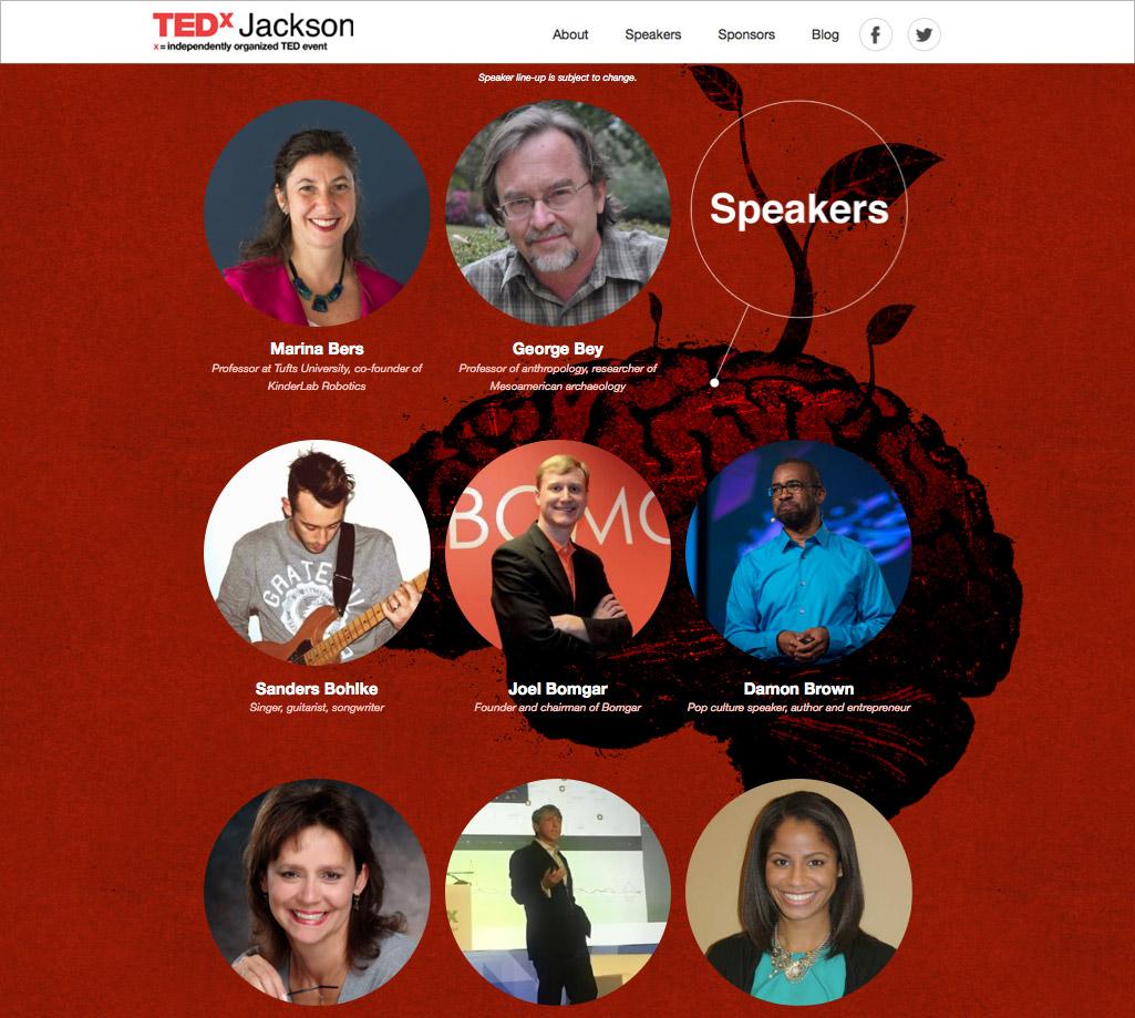 TEDxJacksonSpeakers