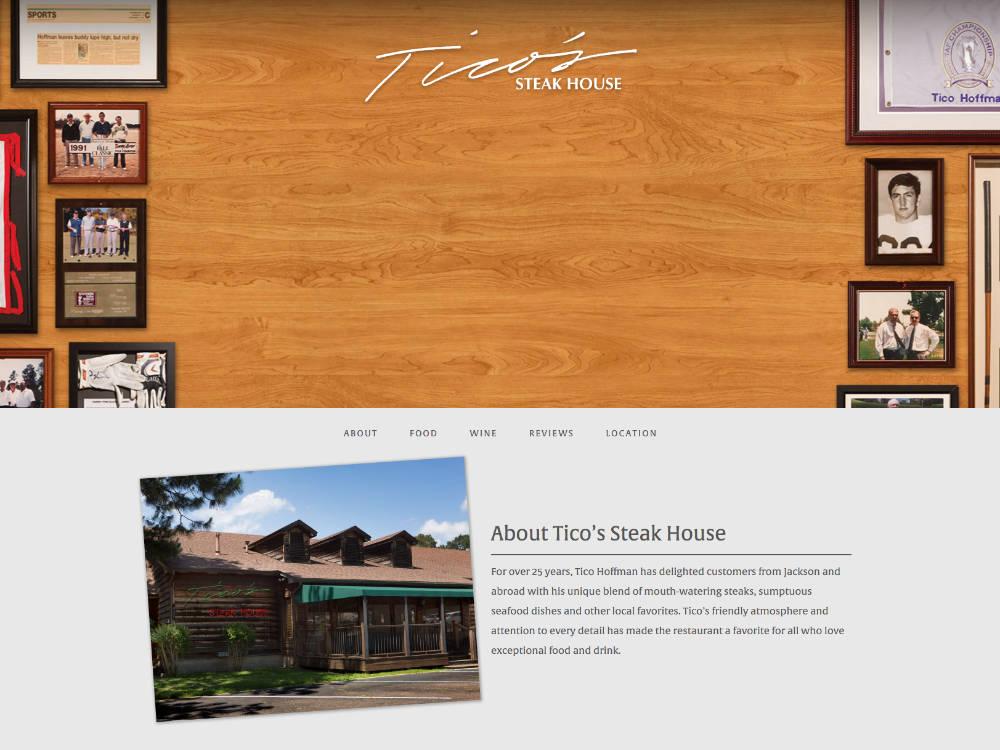 Tico's Website