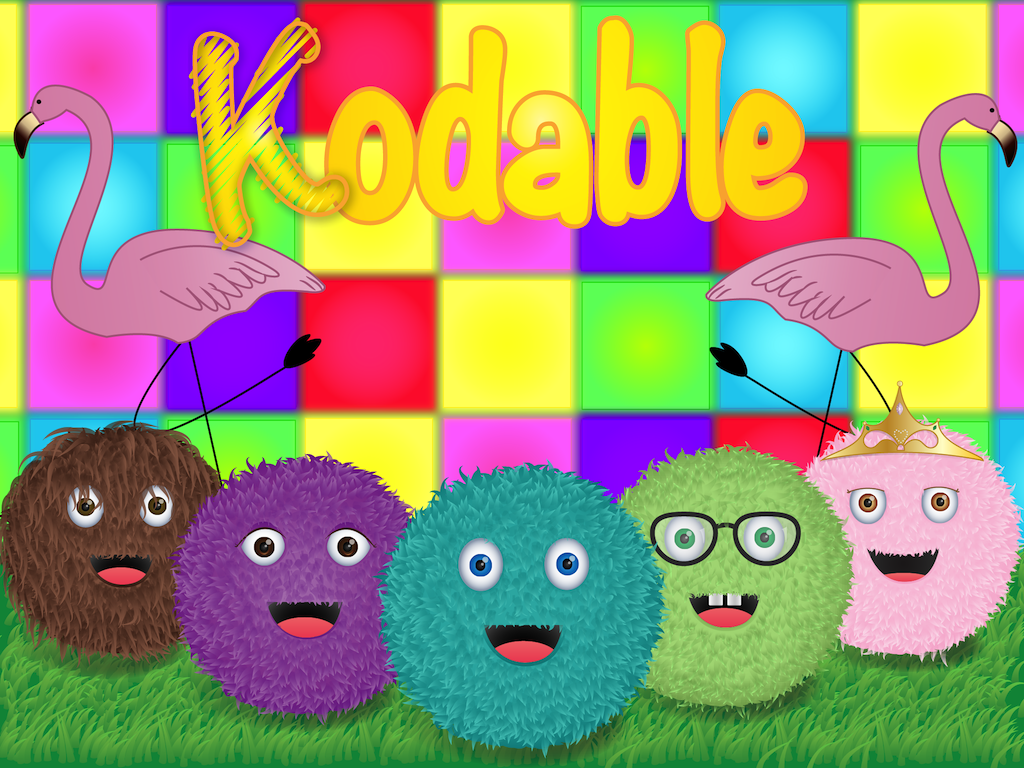Kodable Welcome Screen